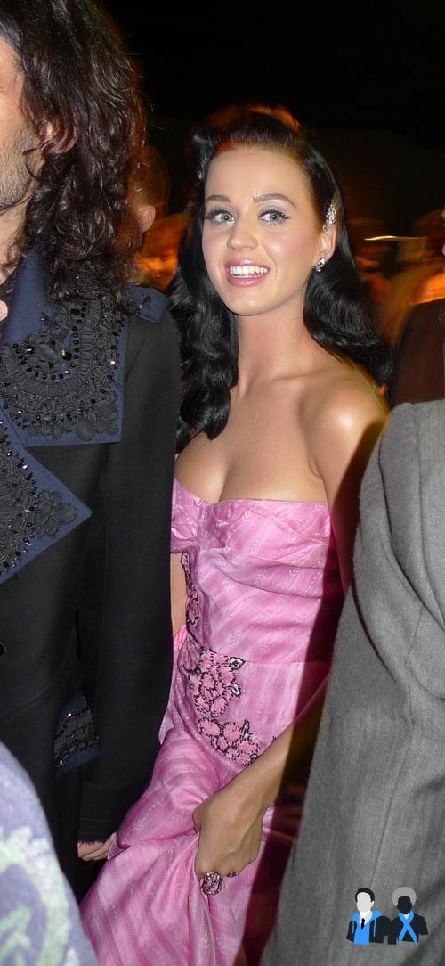 Katy Perry John Galliano fashion show