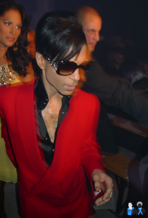 Prince, john gallaino fashion show