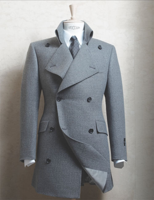 Smalto manteau croisé