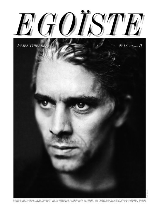 James thierré couverture egoiste 16