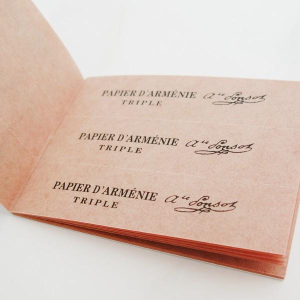 Le papier d'arménie, désodorisant de dandy ?