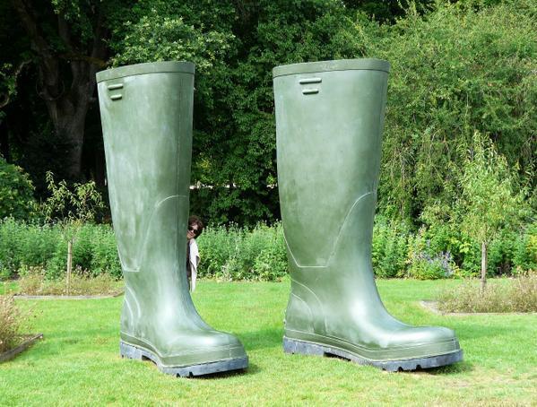bottes de jardinier