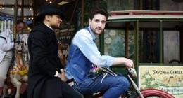 Dandy et moto