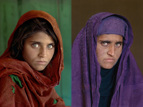 Steve McCurry retrouve la fille afghane