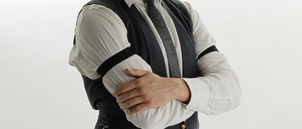 élastique bras chemise