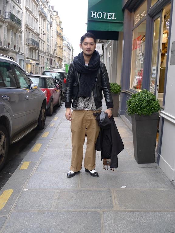 écharpe homme laine
