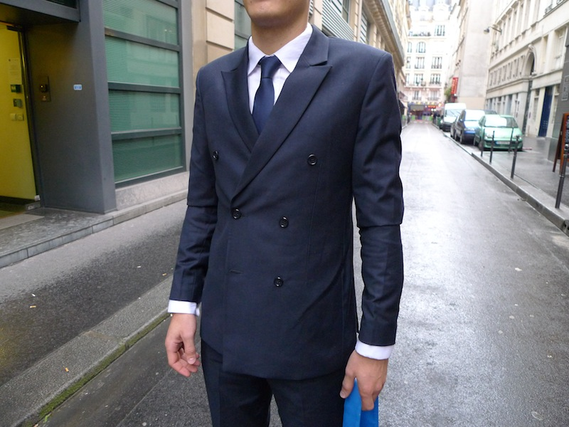 dandy veste croisée