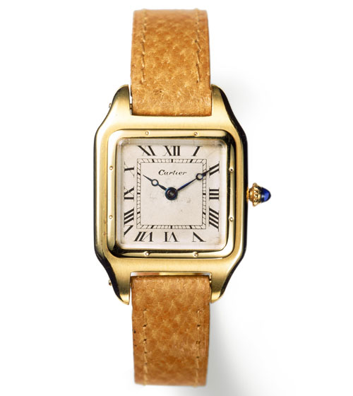 first cartier wrist watch
