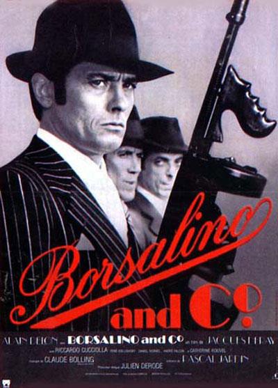 Borsalino avec Alain Delon et Belmondo
