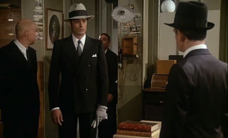 dandy du jour 46 alain delon dans borsalino sodandy. Black Bedroom Furniture Sets. Home Design Ideas