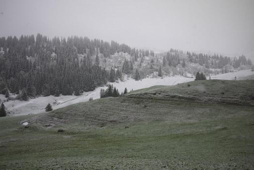 La Clusaz sous la neige