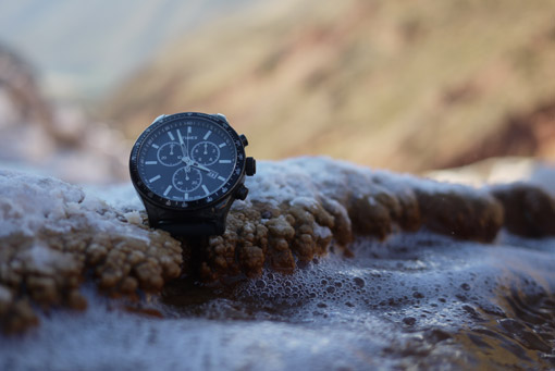 Salines de Maras - Montre Timex