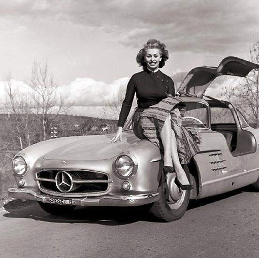Mercedes papillon