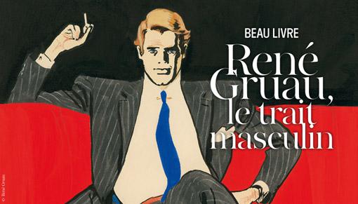 René Gruau dessin homme