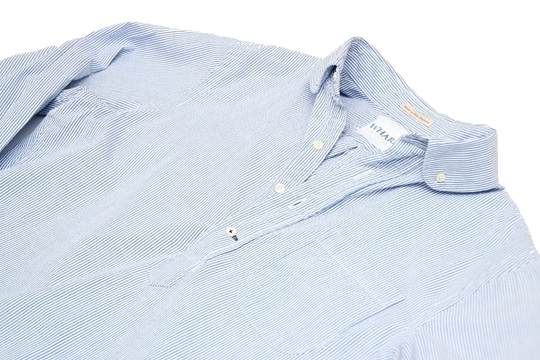 club collar button down