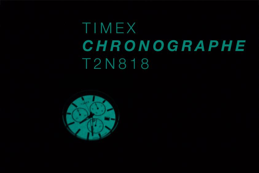Timex montre chronographe