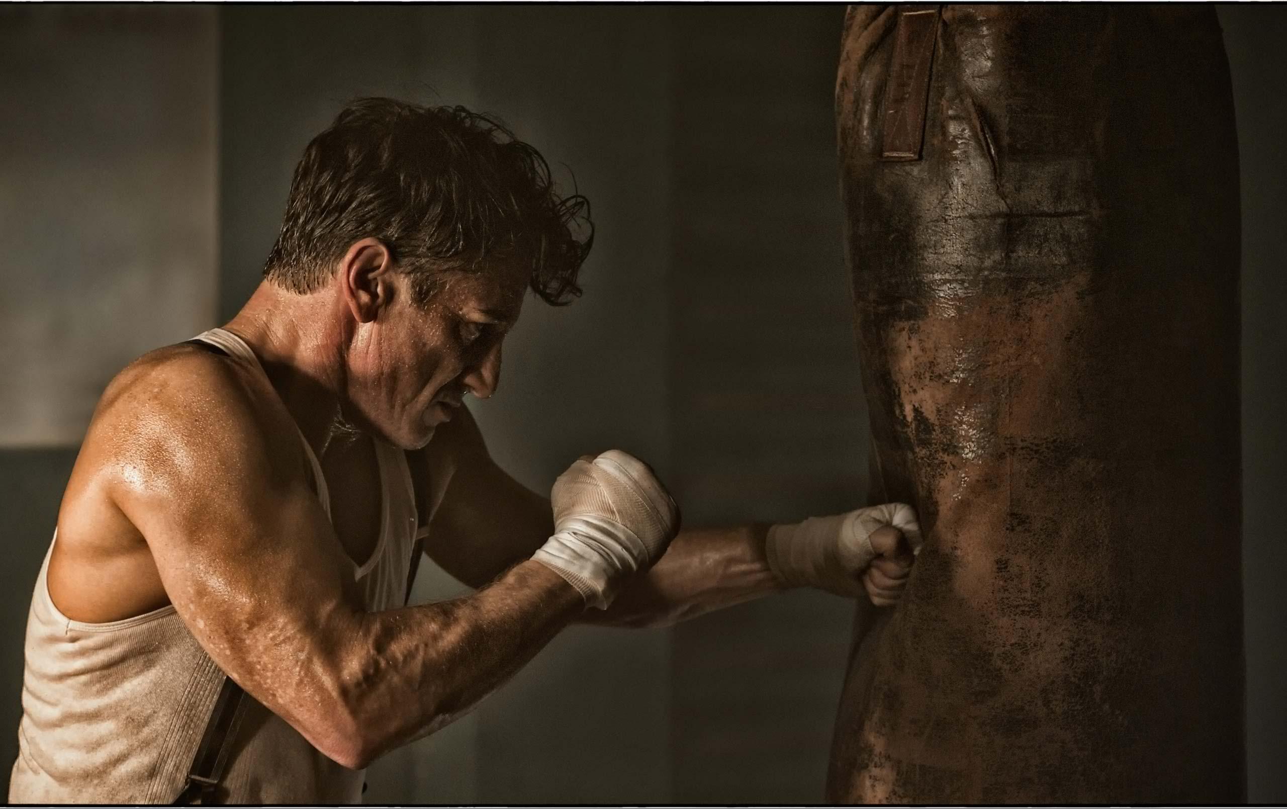 sean penn boxeur rétro années 50