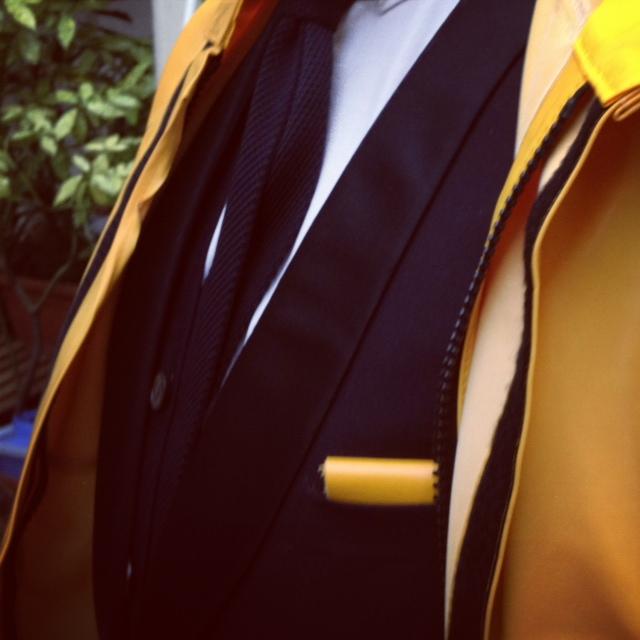 dandy costume cravate tricot pochette