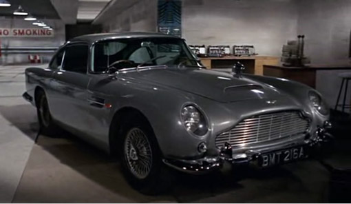 Aston Martin Goldfinger James Bond