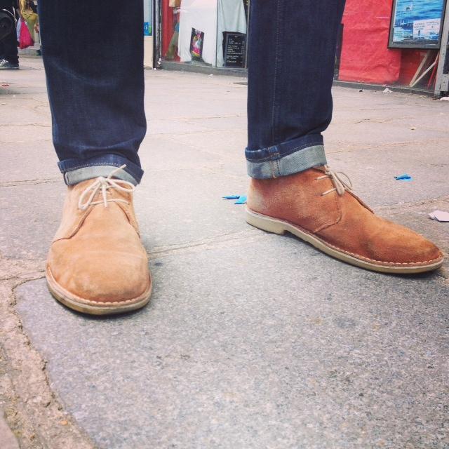 dandy desert boots asos