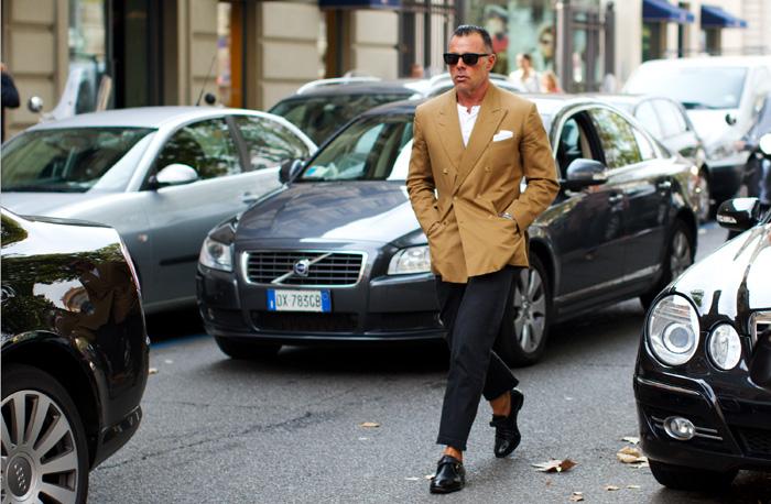 streetstyle homme stylé pitti uomo fashion week