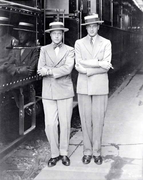 prince de Galles Roi Edouard VIII, duc de Windsor et le Duc du Kent 1927