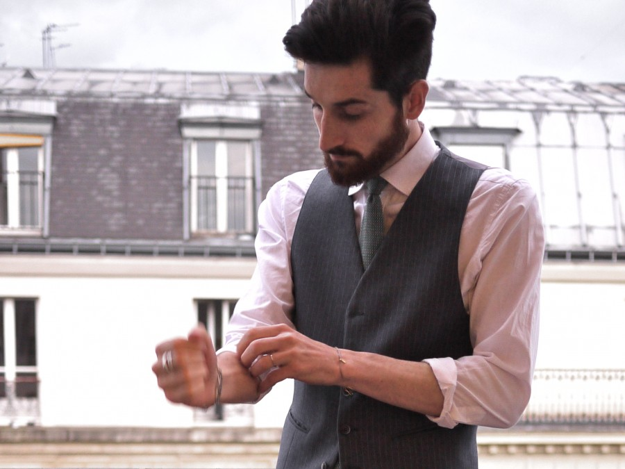 Dandy et cravate