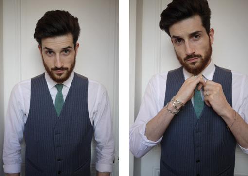 cravate tissée à la main en Italie