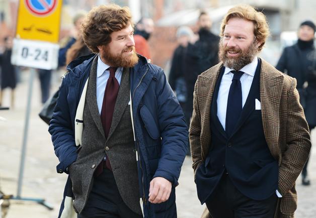tendance mode homme barbe