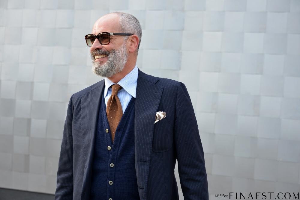 blog mode homme costume cardigan trois pièces