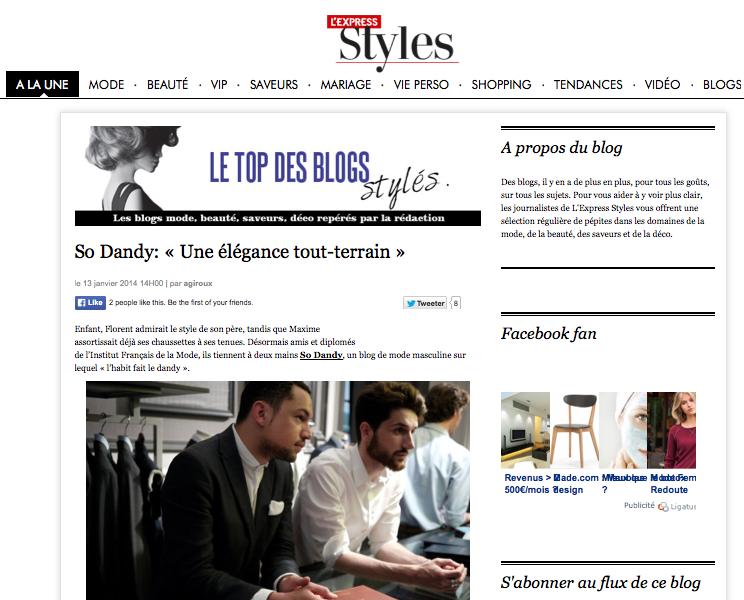 sodandy meilleur blog mode homme