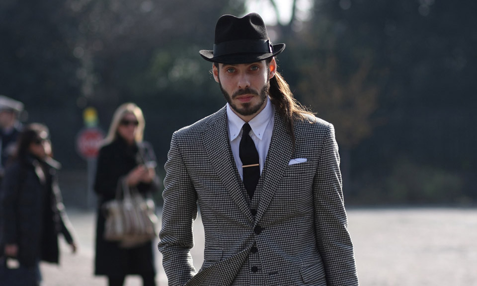 tendance mode homme chapeau