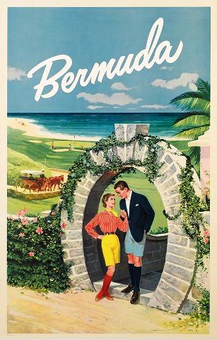 Office tourisme 1950 Bermuda