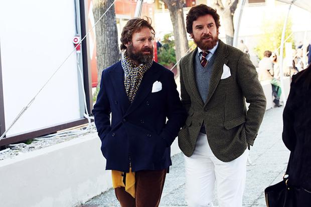 blog mode homme comment nouer echarpe