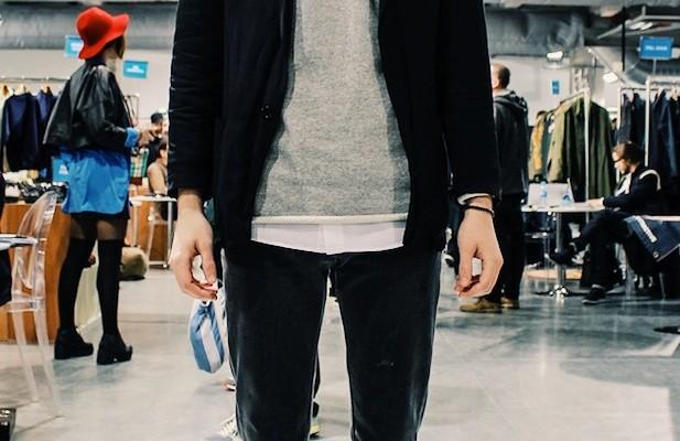 elegant conseil homme jean noir sweat gris veste