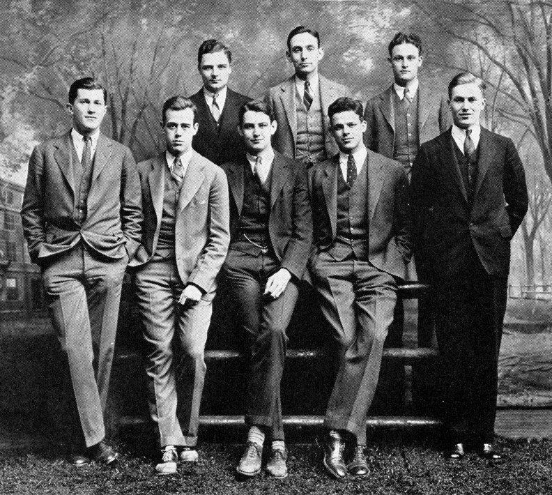 Ivy league style 1950