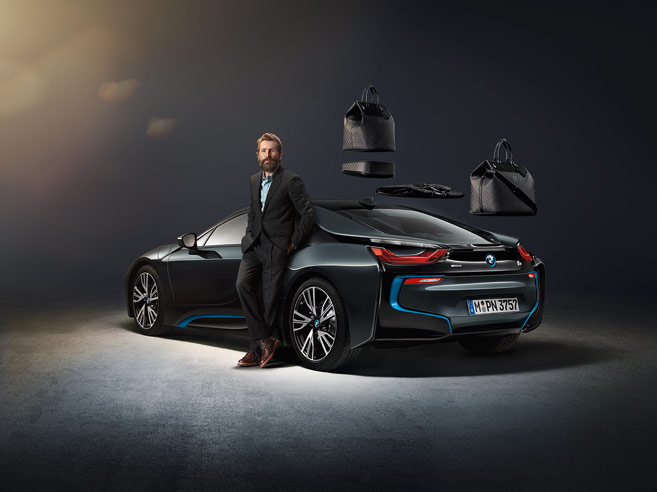 BMW i8 Louis Vuitton