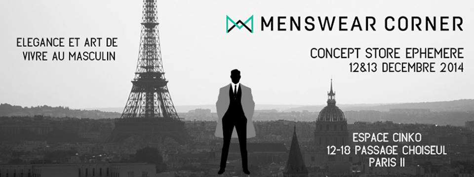 menswear corner mode homme paris salon