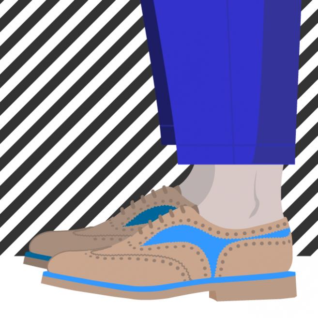 Porter des chaussures sans chaussettes