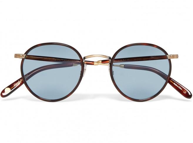 Garrett Leight lunettes de soleil pour homme