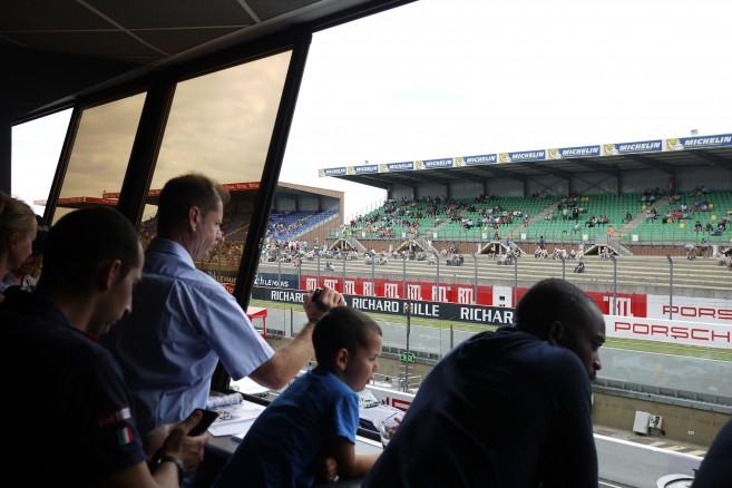 Loge Alain Figaret au Mans Classic 2016