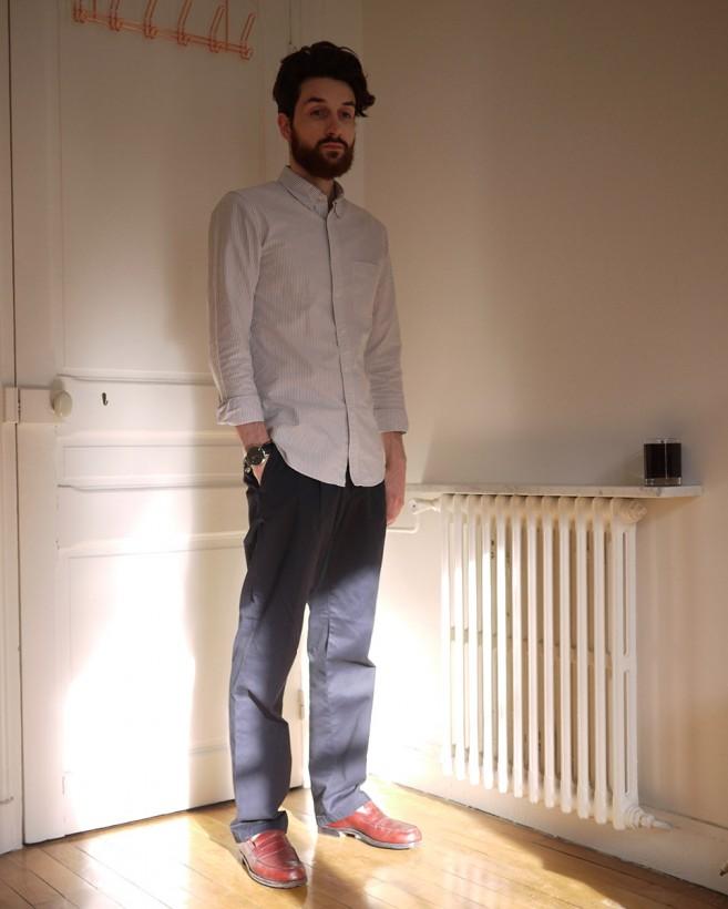 Retoucher un pantalon