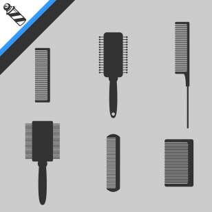 brosses et peignes à barbe