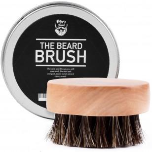 Brosse à barbe ronde