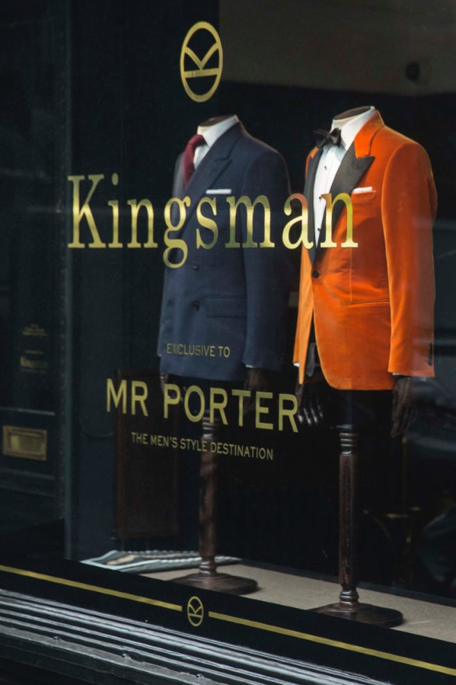 Kingsman Mr Porter